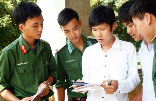 Khối trường quân đội giảm chỉ tiêu tuyển sinh