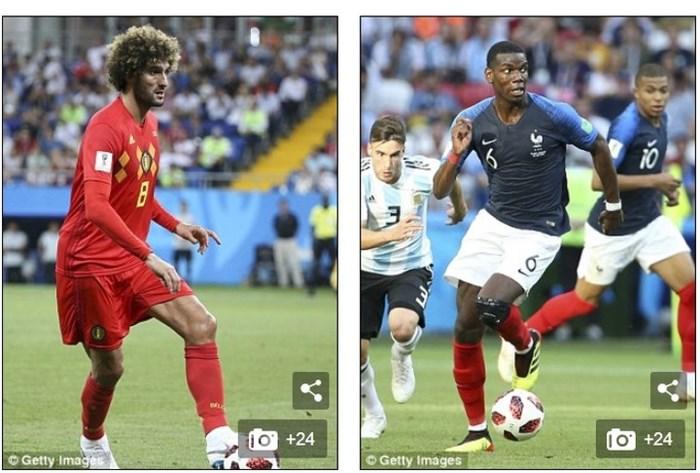 Những lý do Bỉ thất bại trước Pháp trong trận bán kết world cup