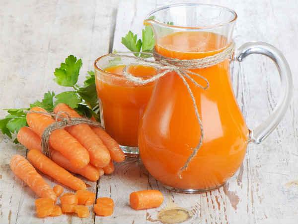 Uống nước ép cà rốt có tác dụng gì cho sức khỏe?